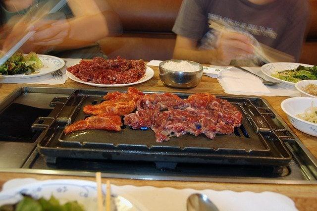 Lesbian Travelers Guide to South Korea, Korean BBQ