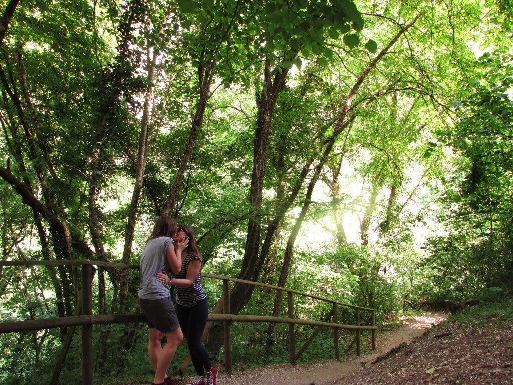 Molina Falls Verona Italy Lesbian Travelers