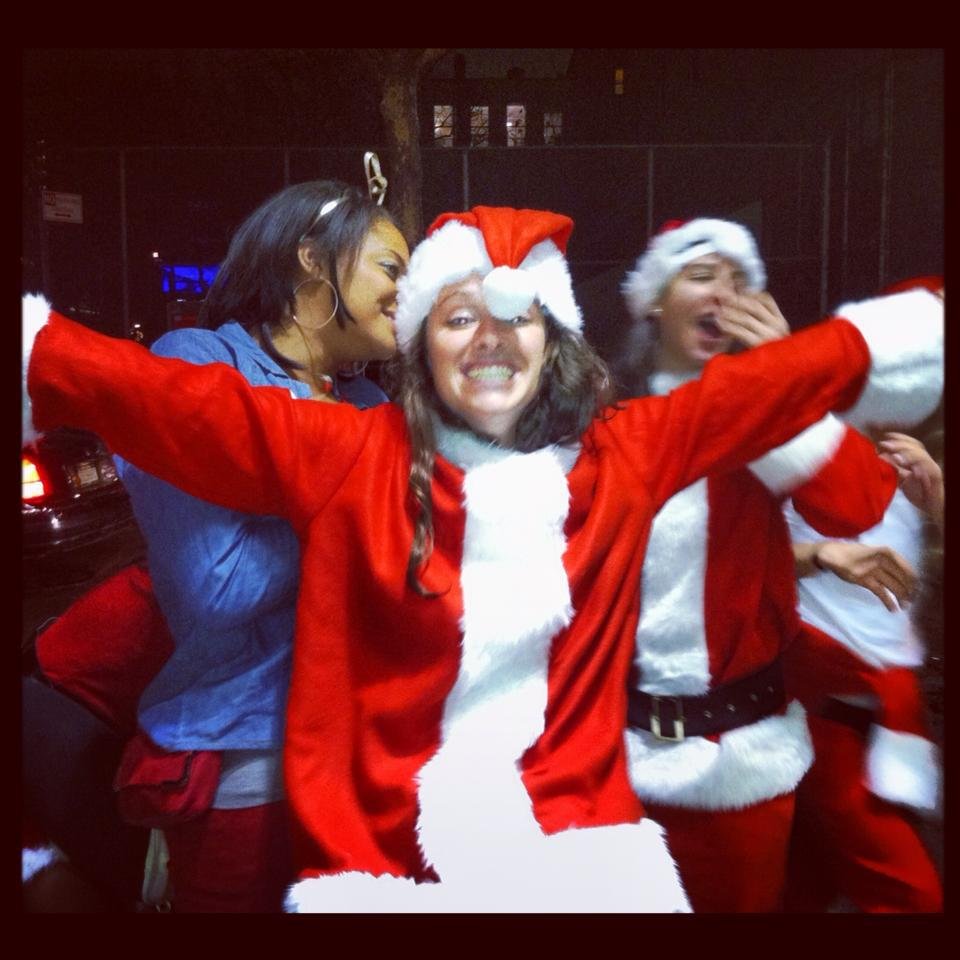 Santa Con NYC- 30 Things To Do When You Don't Want To Grow Up- Lesbian Travel Guide- DopesOnTheRoad.com