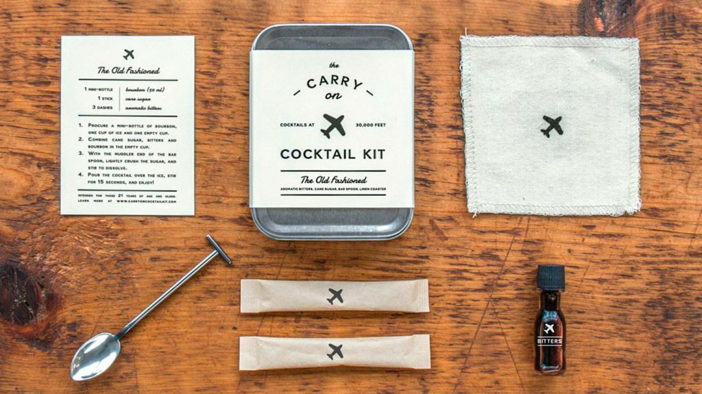 Carry On Cocktail Kit - 10 Valentine's Day Gifts Under $50 for the Traveler You Love- Lesbian Travel Guide- DopesOnTheRoad.com