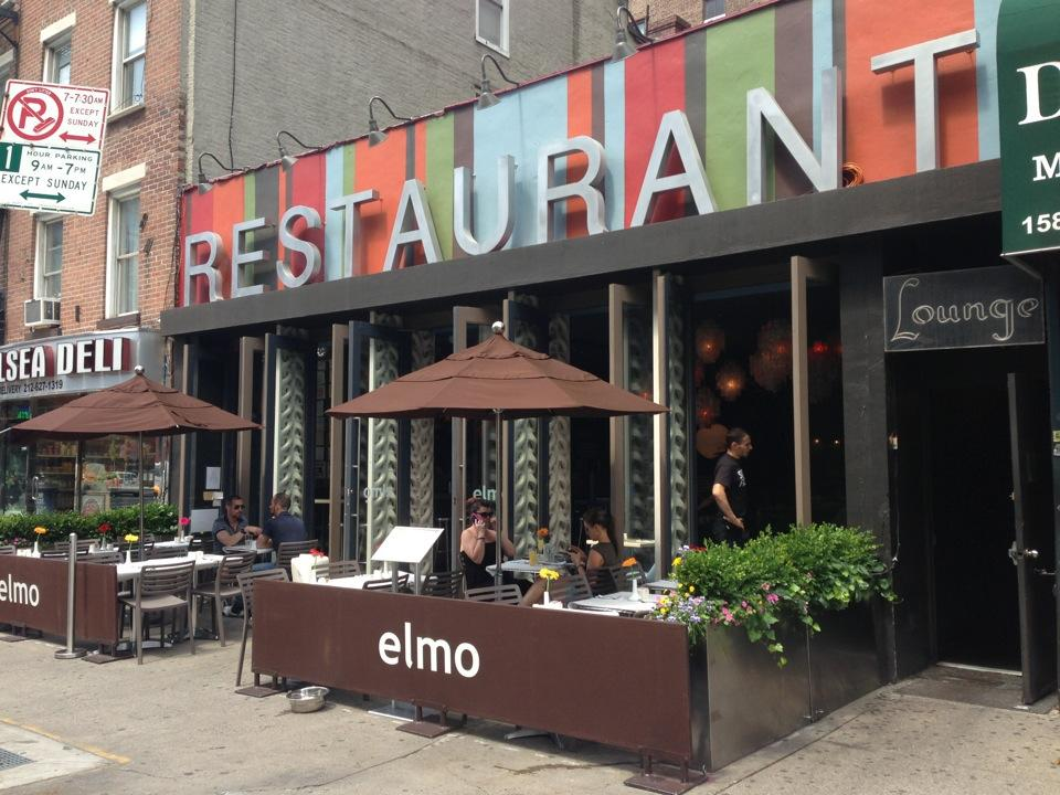 Elmo - 7 Best Bougie & Boozy Brunches in NYC- Lesbian Travel Guide DopesOnTheRoad.com