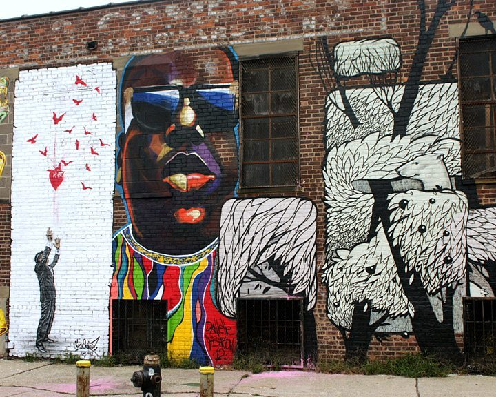 Nick-Walker-Danielle-Mastrion-and-Concrete-Jungle-street-art-in-Bushwick-Five-Points-LGBT-Guide-NYC-