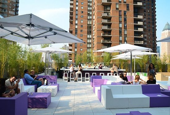 Yotel Roof Deck -7 Best Bougie & Boozy Brunches in NYC- Lesbian Travel Guide DopesOnTheRoad.com