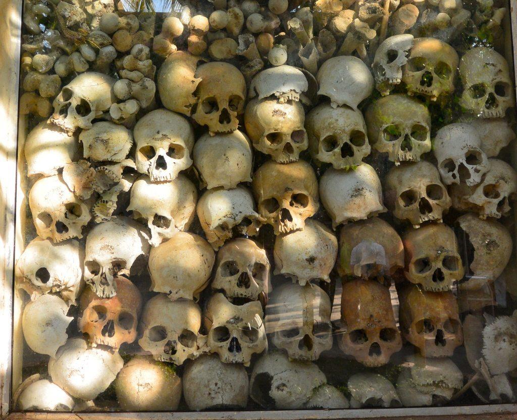 Wat Thmey- Killing Fields- Siem Reap Cambodia