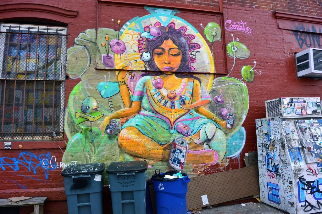 Obsessed Brooklyn Street Art- Williamsburg New York City- Lesbian Travel Guide- DopesOnTheRoad.com