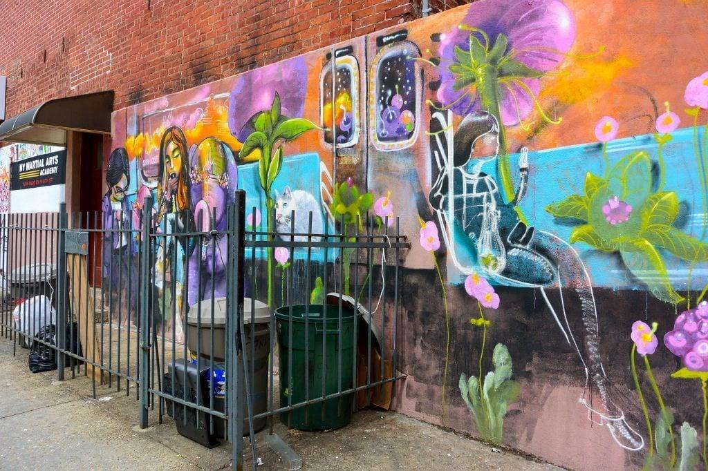 Obsessed Brooklyn Street Art- Williamsburg New York City- Lesbian Travel Guide- DopesOnTheRoad.com