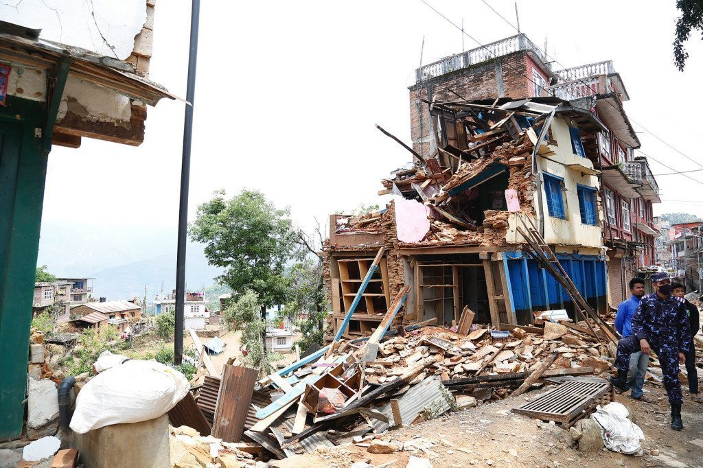 Damage Nepal Earthquake