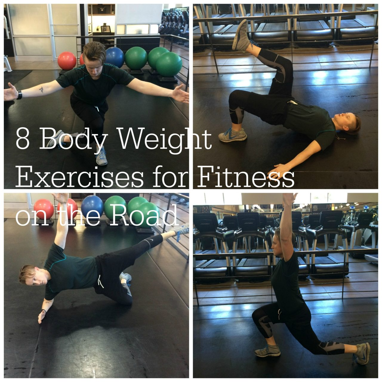 8 Body Weight Exercises for Fitness on the Road