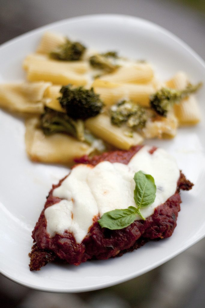 Chicken Parm and Broccoli Pasta:  A Recipe Spiced with Memories- Lesbian Travel Blog- DopesOnTheRoad.com