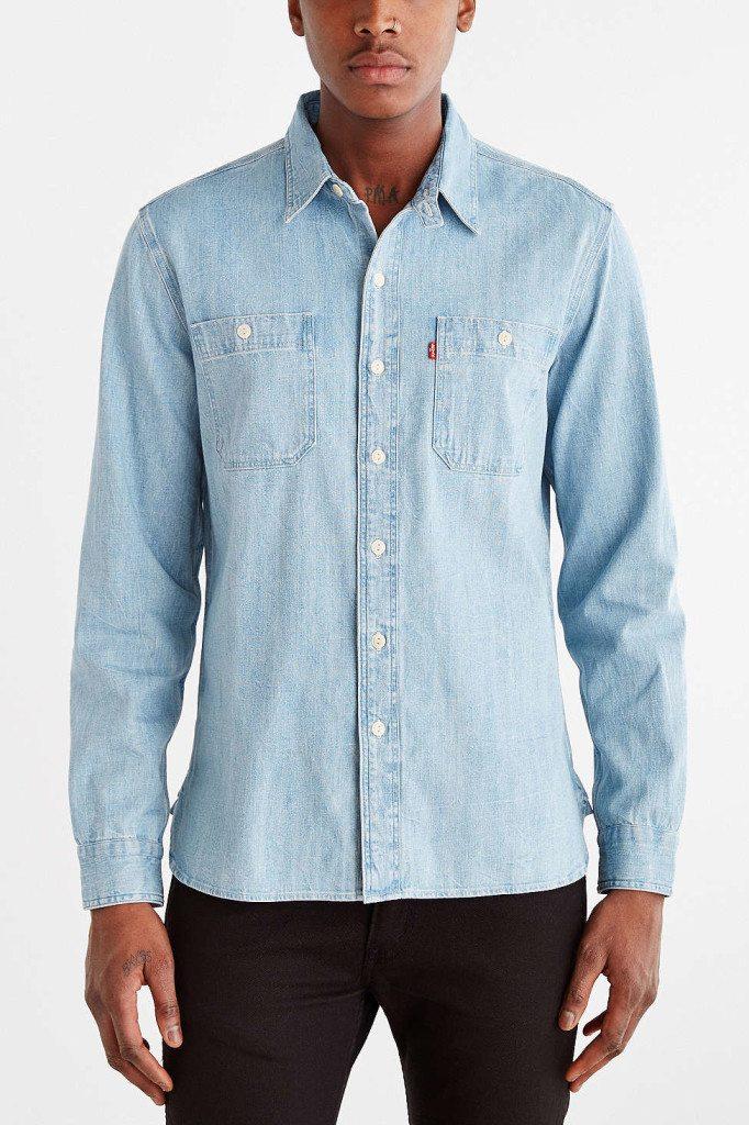 Denim Shirt 15 Piece Andro Summer Travel Wardrobe