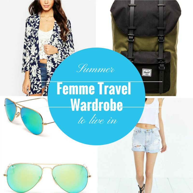 15 Piece Femme Summer Travel Wardrobe
