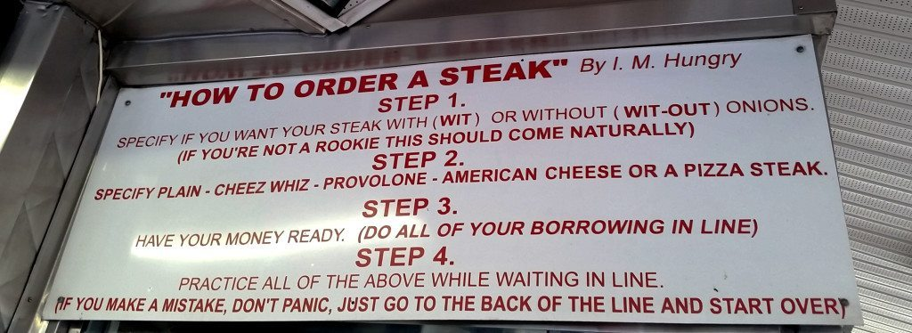 pats v sginos Philly Cheese Steaks