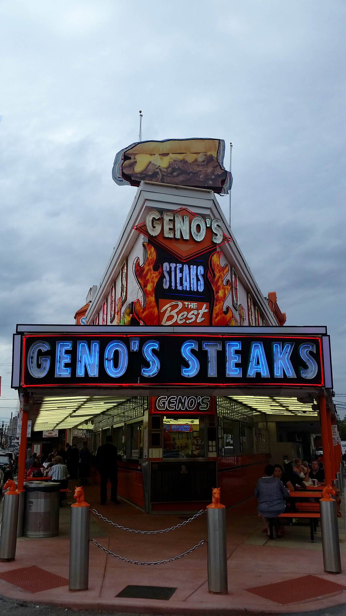 Foodie Friday: Pat's VS Gino's The Philly Cheese Steak Show Down