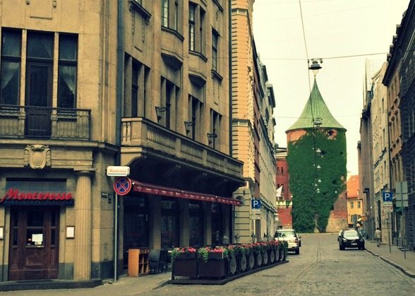 Old Town Riga Postcards