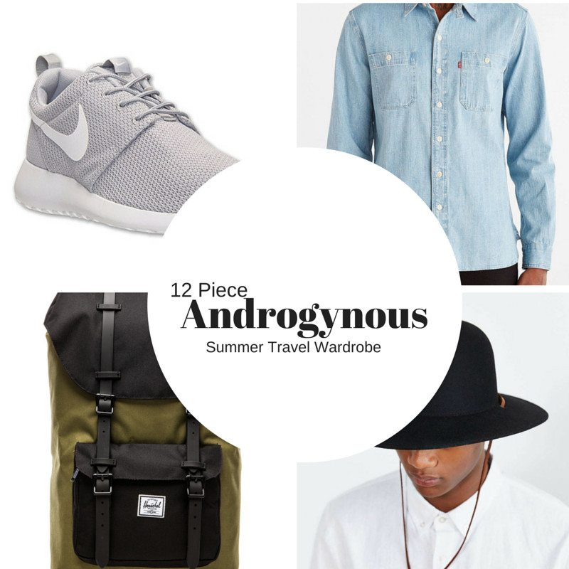 Androgynous Fashion for Summer Travel
