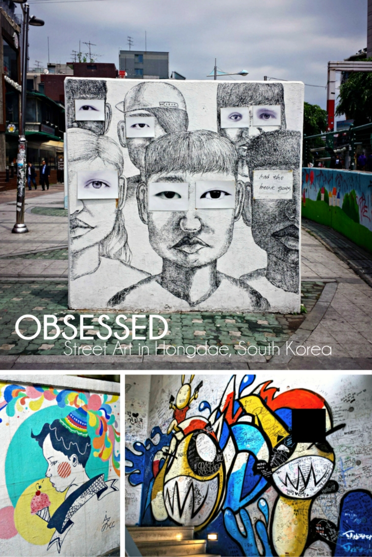 OBSESSED: Street Art in Hongdae South Korea