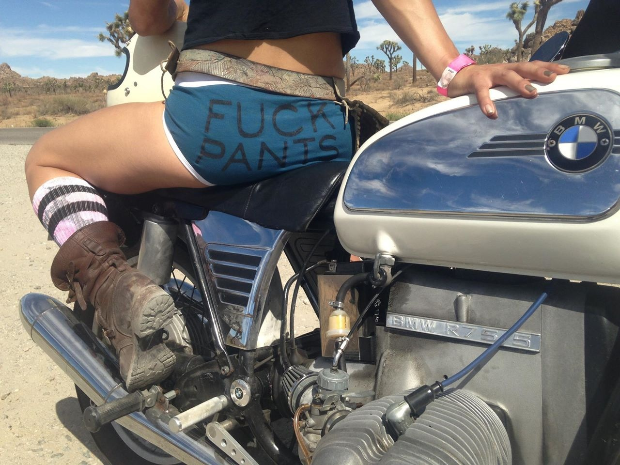 20 Photos of Badass Babes on Motorcycles + Hinterland Empire GIVEAWAY!
