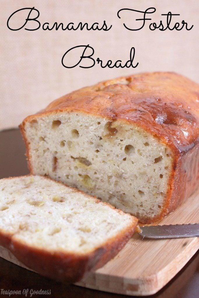 Brunch-recipes-Bananas-foster-bread