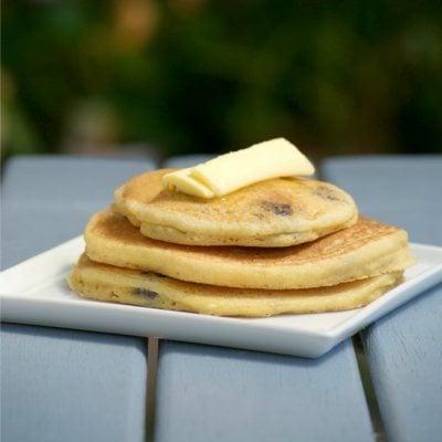 Brunch-recipes-Blueberry-Cornbread-Pancakes