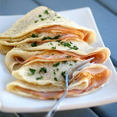Brunch-recipes-ham-cheese-crepes