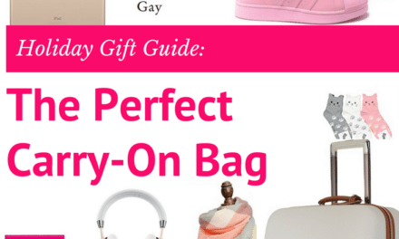 Holiday Gift Idea: The Perfect Carry-On Bag