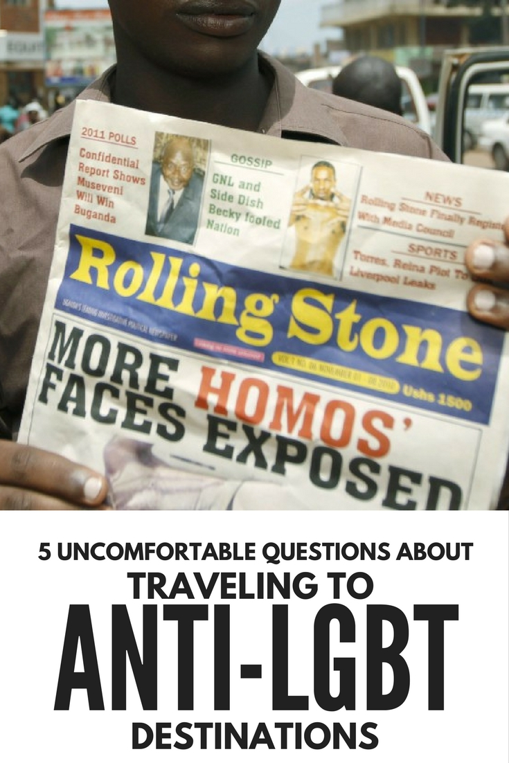 Are you willing to travel to an anti-LGBT destination?