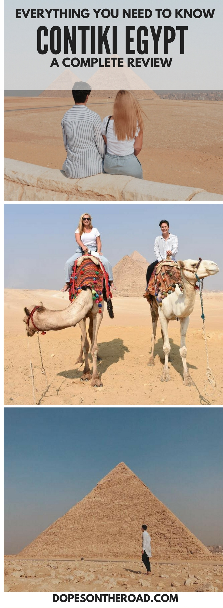 Everything you need to know about Contiki Egypt. This LGBT friendly Egypt guide will show you all the behind the scenes of Contiki's Egypt Tour.