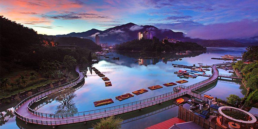 Taiwan Evening Landscape
