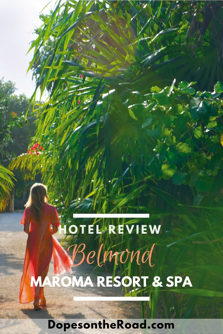 We've been lusting after the luxury Cancun hotel Belmond Maroma Resort & Spa for months now. After getting the chance to stay it's all we had hoped and more.