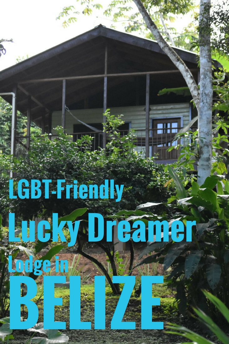 Lucky Dreamer Lodge is the perfect treehouse hotel destination for gay travelers in Belize.