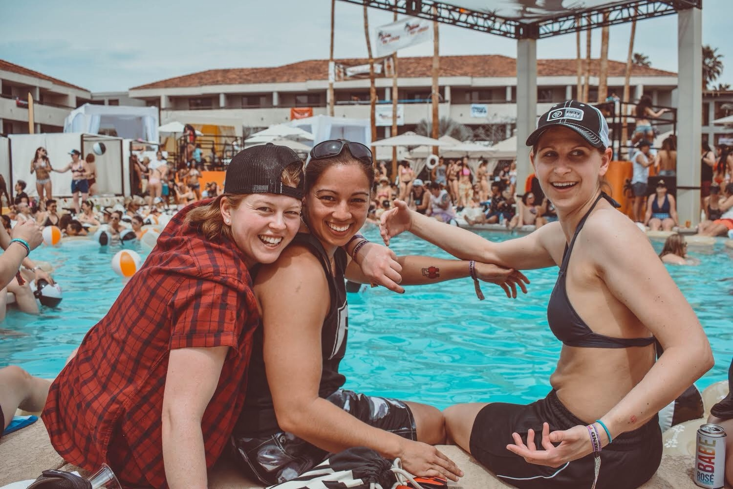 Three Lesbians At A Pool Dopes On The Road An Lgbt Travel Blog