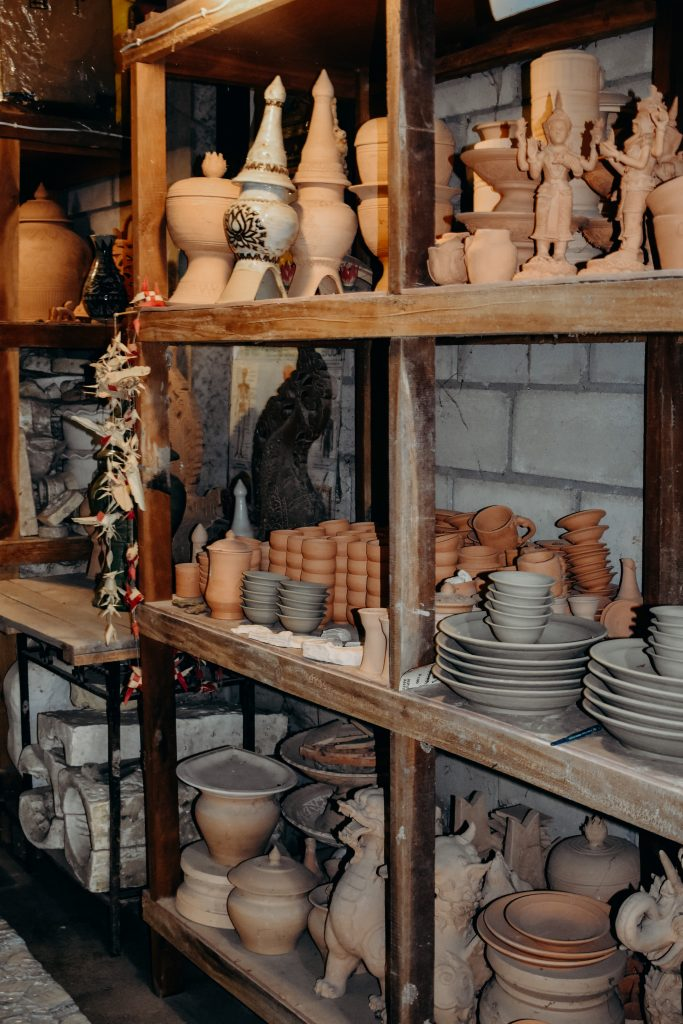 Pottery class in Thailand