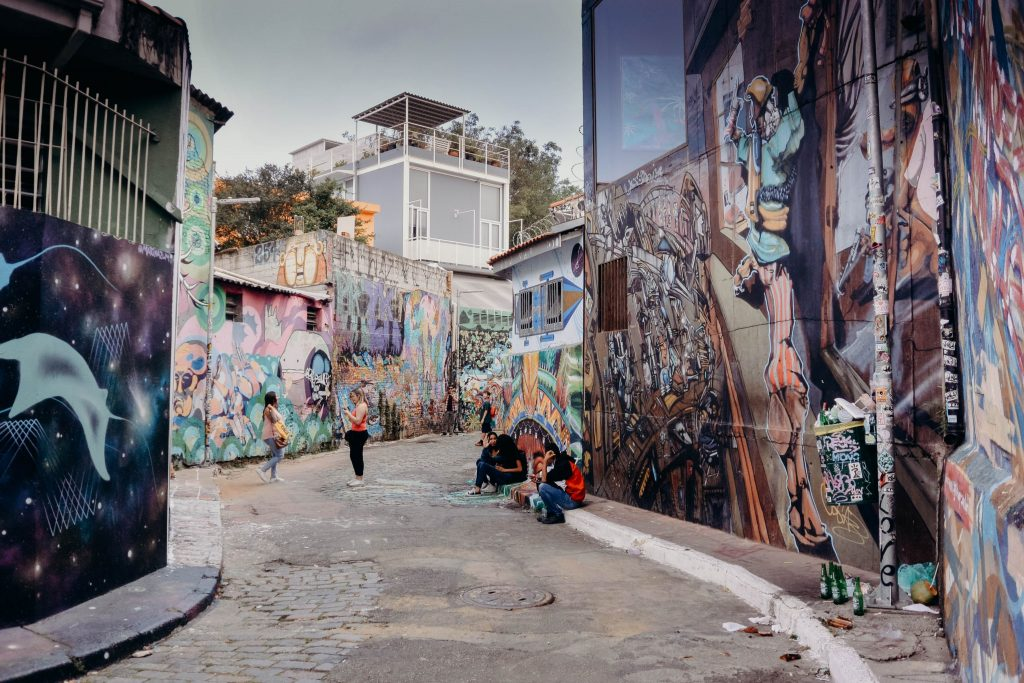 Beco De Batman Sao Paulo Brazil