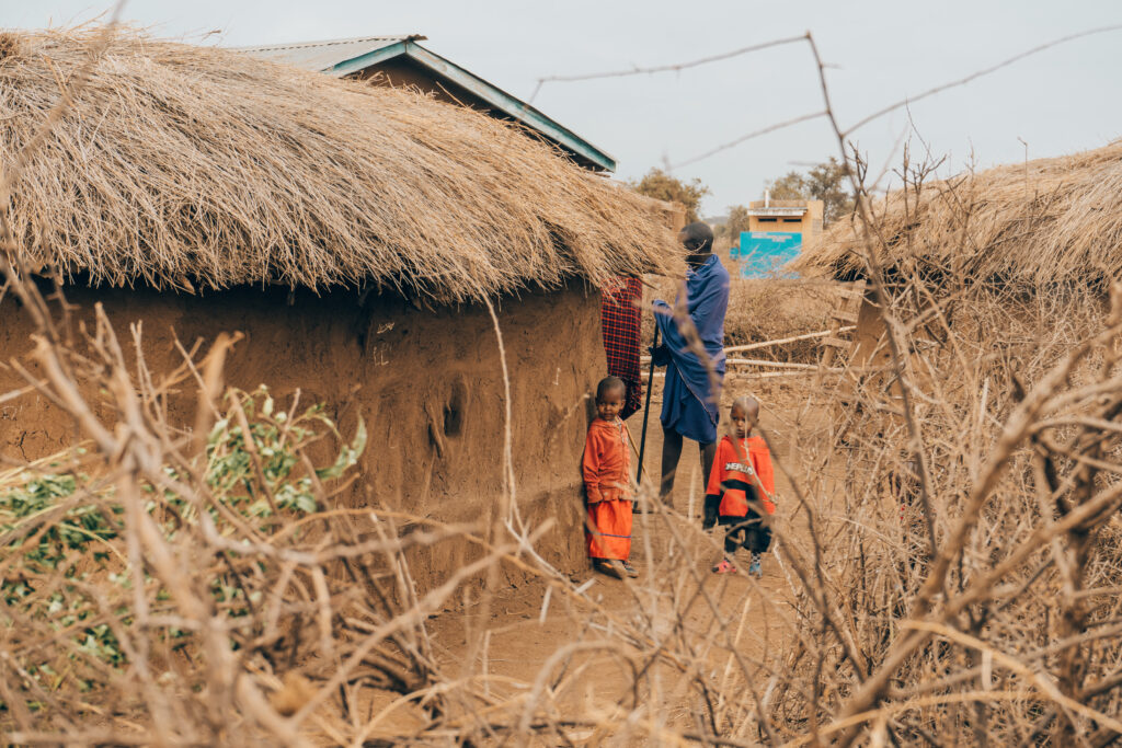 Maasai-Village-tour-house