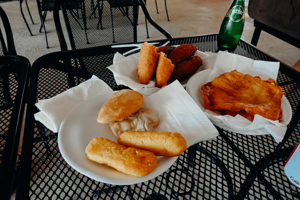 fried Puerto Rican food