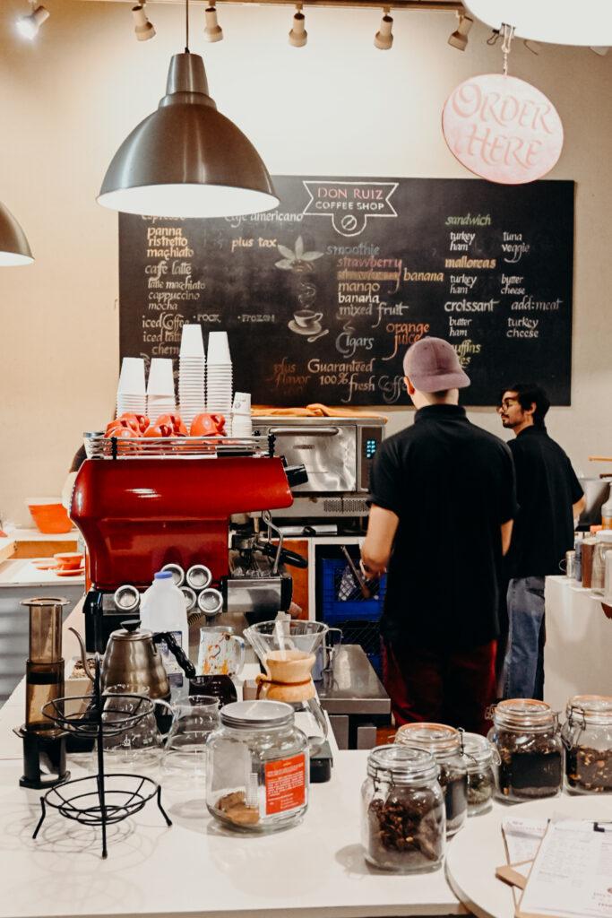 Puerto Rican coffee shop