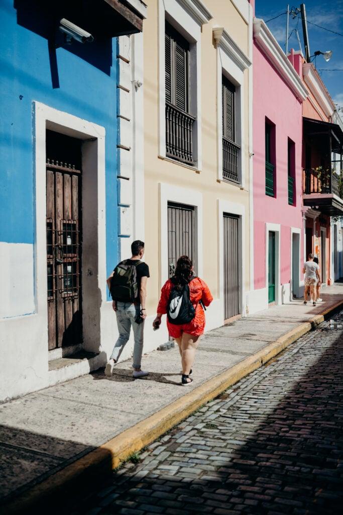 Queer women in Old Town San Juan