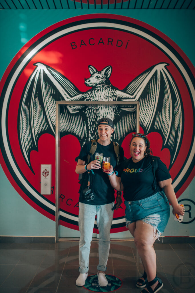 queer women on the Bacardi Tour